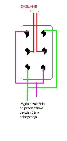 Jak odwrócić biegunowość aby sterować silniczkiem w 2 strony