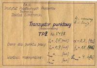 Polskie tranzystory retro