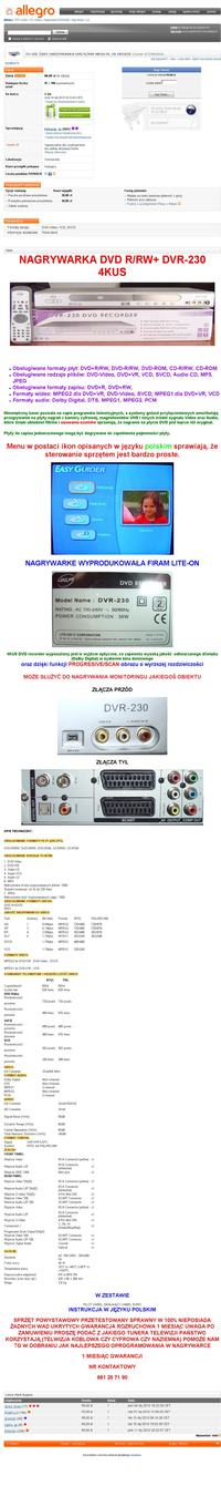 Zgrywanie VHS na DVD - Nagrywarka, tuner, grabber?