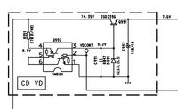 Pioneer DEH-2920MP brak napięcia na 2SD2396
