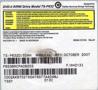 Samsung HR757 DvdHdd - Szukam napędu TS-P632D/SDAH