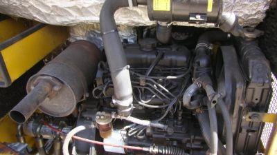 Koparka Schaeff - nie odpala silnik