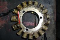 Kawasaki KLR 600 brak iskry