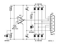 Interfejs optyczny do licznika energii elektrycznej