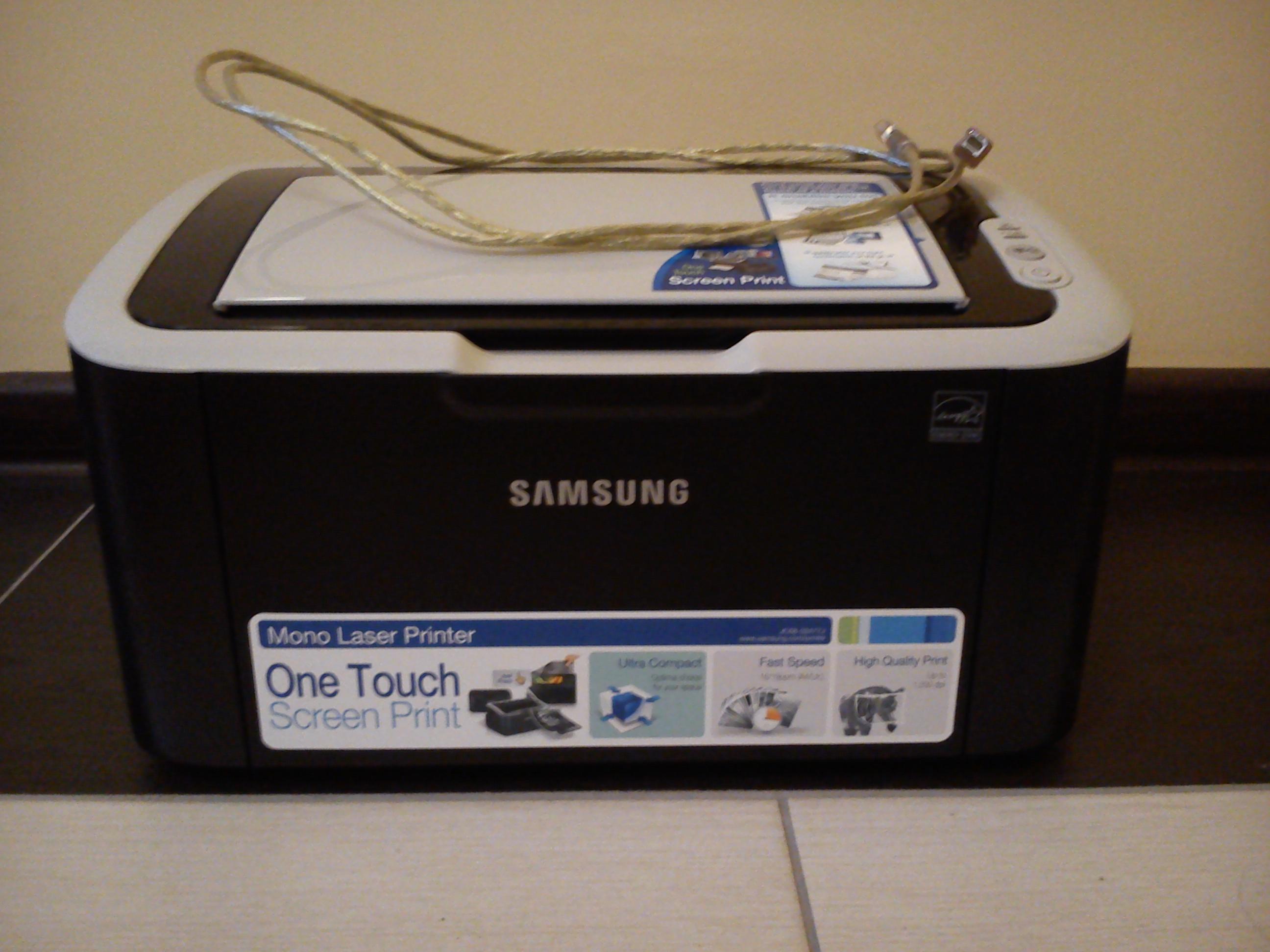 [Sprzedam] Drukarka laserowa monochromatyczn� Samsung ML-1860. Stan bardzo dobry