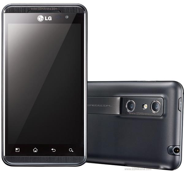 Smartphone LG Optimus P920 z ekranem 3D
