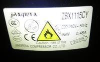 Uszkodzona lodówka Mastercook LCED-918NFX brak reakcji na zasilanie