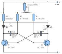 Diody 3v i 12v równolegle połączyć