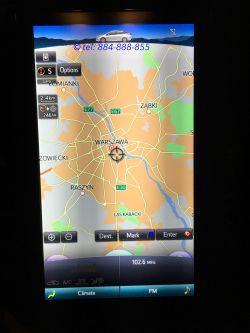Toyota Prius Prime plug-in - Nawigacja mapy