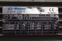 IE2-motoren - silnik po podłaczeniu w gwiazdę po 30 min pracy spalił się