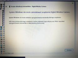 kamera 4World SECURITY - Windows 10 nie rozpoznaje urządzenia i nie instaluje
