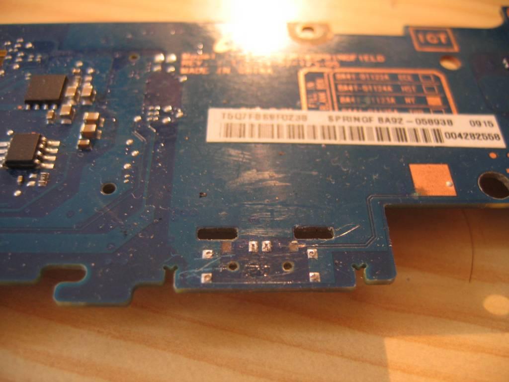 Netbook Samsung NP-N130 wyrwany microstick w��cznika