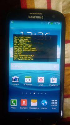 Samsung GT-I9305 - Menu serwisowe