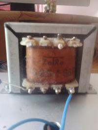 Wzmacniacz lampowy, uszkodzony transformator głośnikowy albo lampa