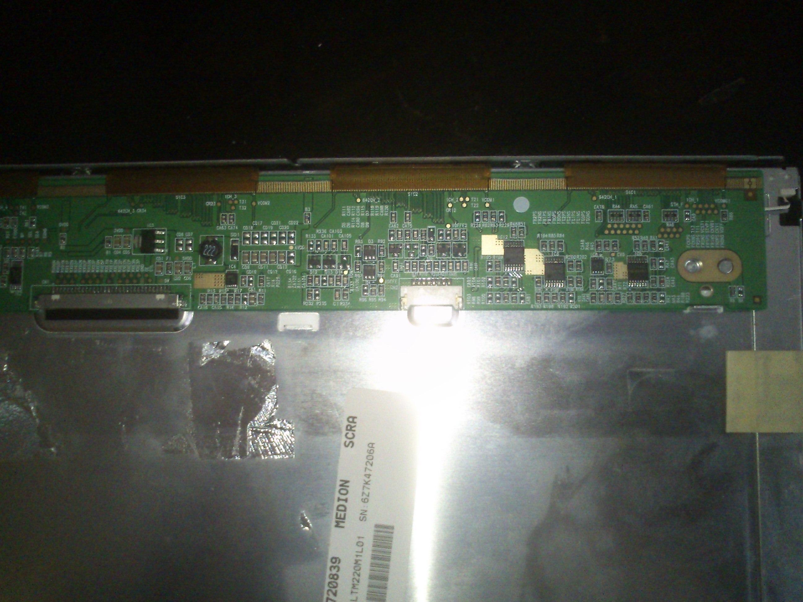 Dell 2208 WFPt - Poszukiwania inwertera