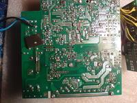 Chieftec model: CFT-650-14CS uszkodzone: SG6848T, FQPF2N60C rezystor bezpiecznik