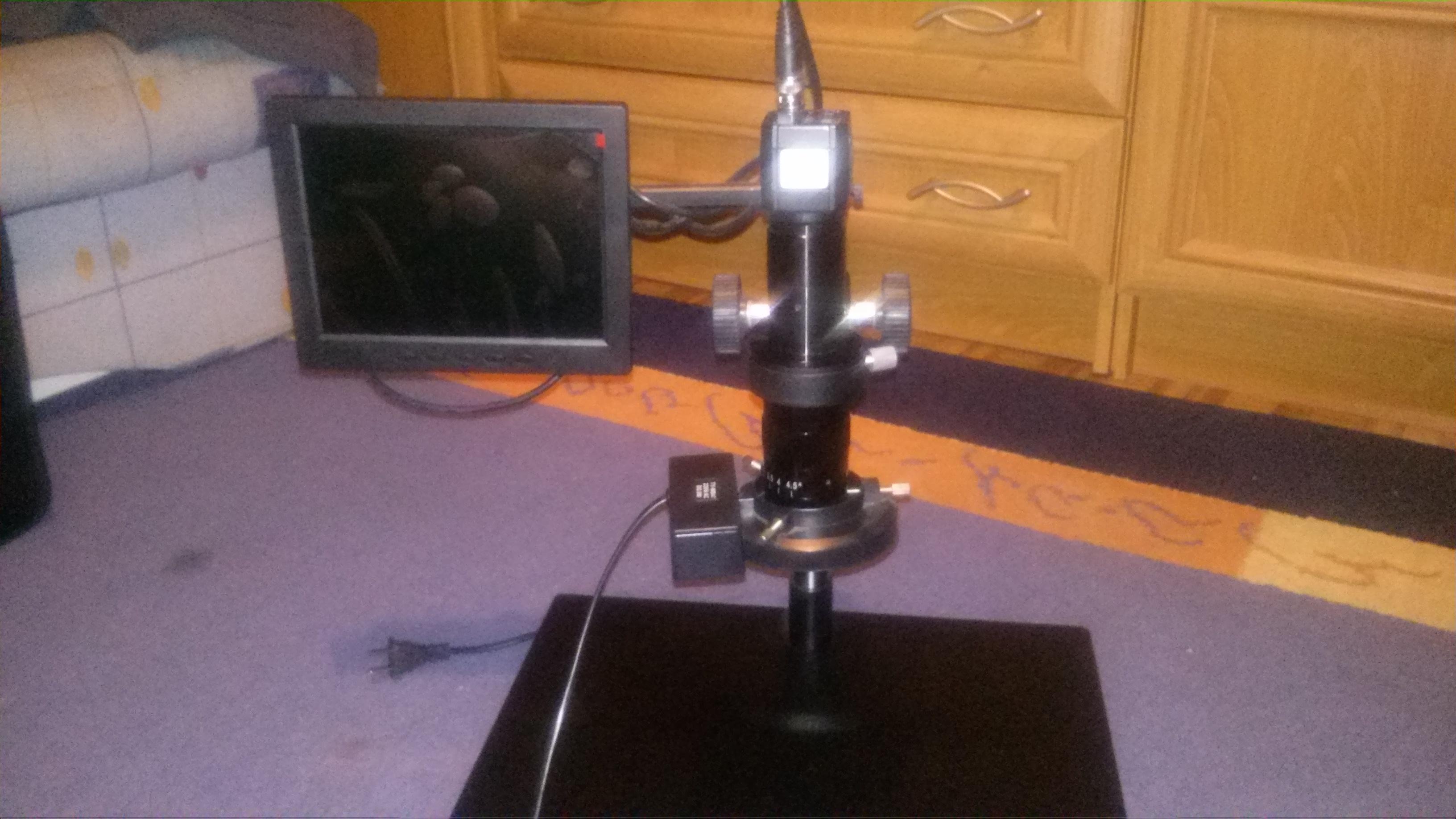 [Sprzedam] Sprzedam System Inspekcji PCB / Mikroskop video KE-208A cena:1200z�