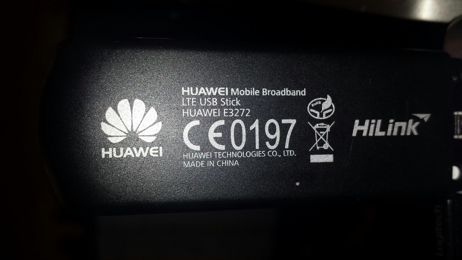 Tp-Link MR3420v2 versus Huawei E3272 (modem LTE) - brak sieci