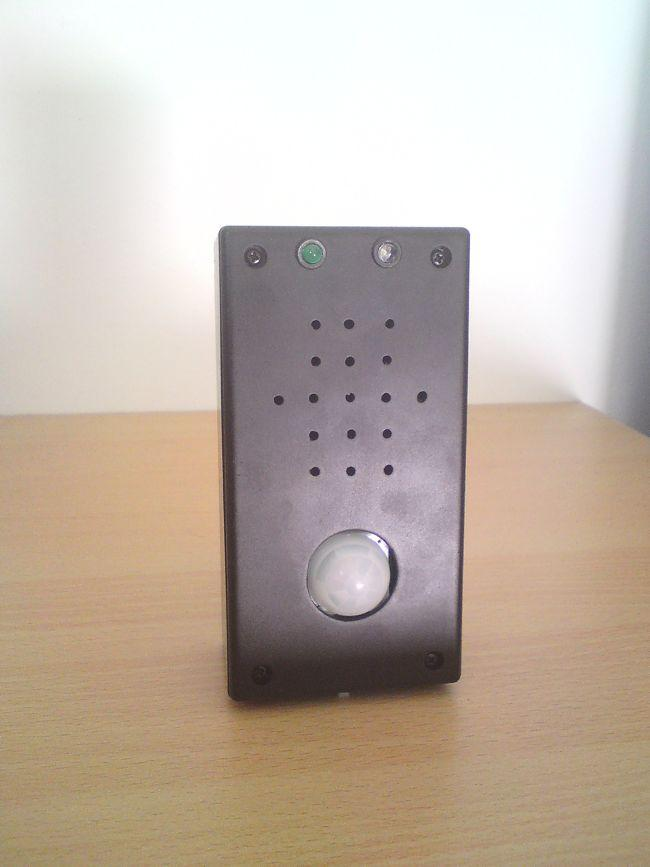 Czujnik ruchu PIR, mikrokontroler PIC18F25K20