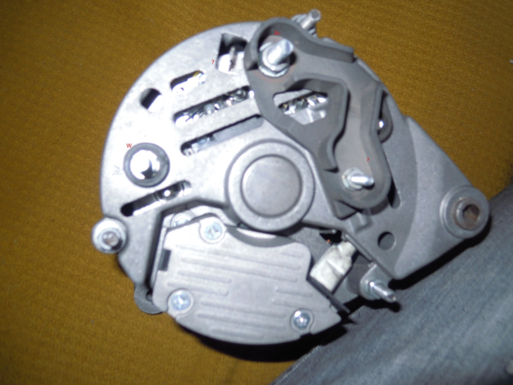 Dziwny alternator do c 330m