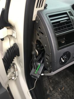 VW T5 2003 - Autoalarm i brak kluczyka - Lublin