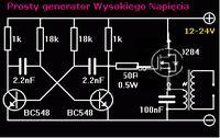 Poprawność schematu generatora WN.