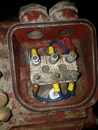 Silnik SZJe54, moc 10kW, 220/380V podłączenie