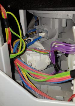 Zmywarka Bosch SPV69T00 - nie odprowadza wody, błąd E15