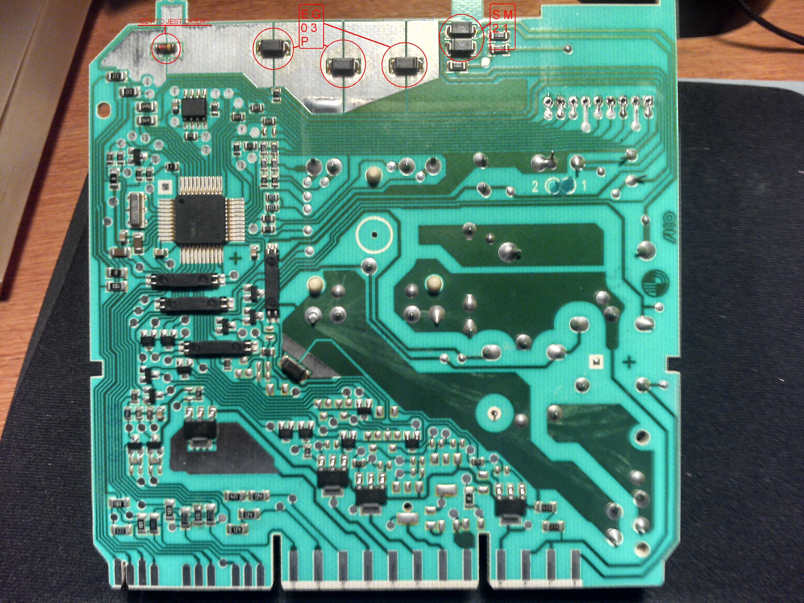 Zmywarka ADP 550 - Jakie to elementy?