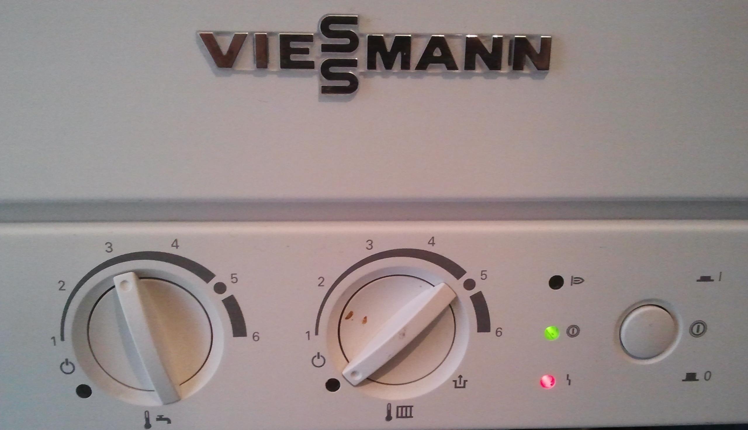 Viessmann\\Vitopend 100 - brak ciep�ej wody, a pompa ci�gle dzia�a
