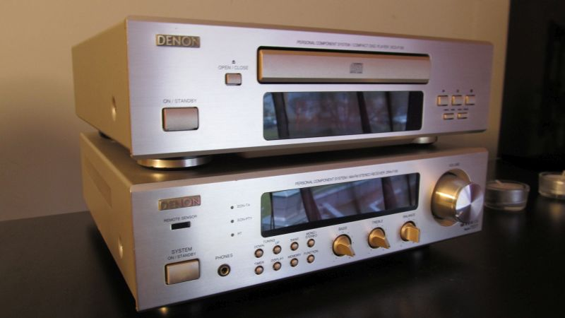 [Sprzedam] Denon DRA-F100 amplituner+CD zestaw stereo Krk