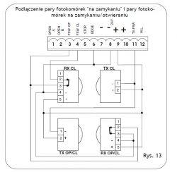 Faac 740 + 1 para foto komórek