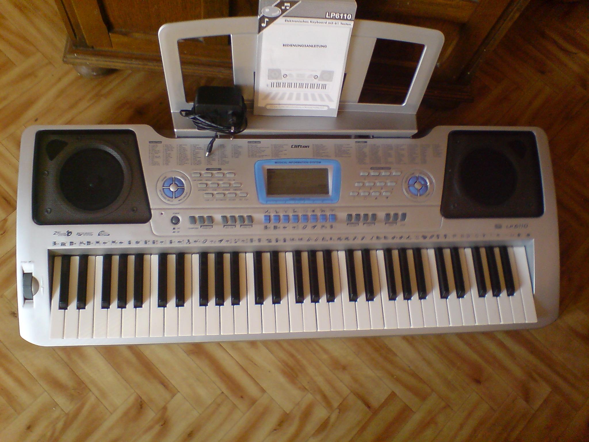 [Sprzedam] Keyboard Clifton LP 6110