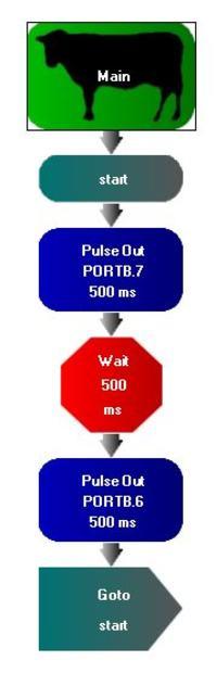 PIC16F648A - flowcode 4 i pickit3