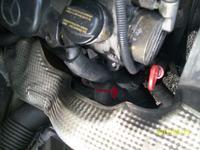 Mercedes/Sprinter208 - Kopci bia�ymi spalinami z t�umika