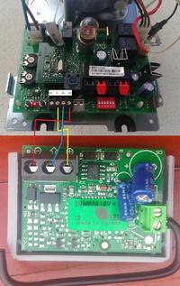 Hormann ProMatic 2 - dziwne zachowanie po podłączeniu radia FAAC XF 868MHx