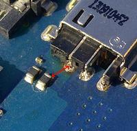 Samsung NP-RC520-S06PL - Urwany pad gniazda zasilania, jak naprawić?