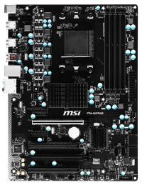 MSI 970A-G43 - Monitor nie reaguje. Wentylatory działają.