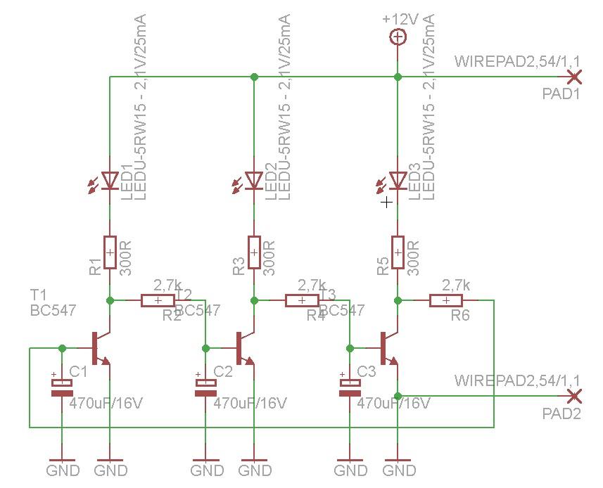 Multiwibrator TRIstabilny :)