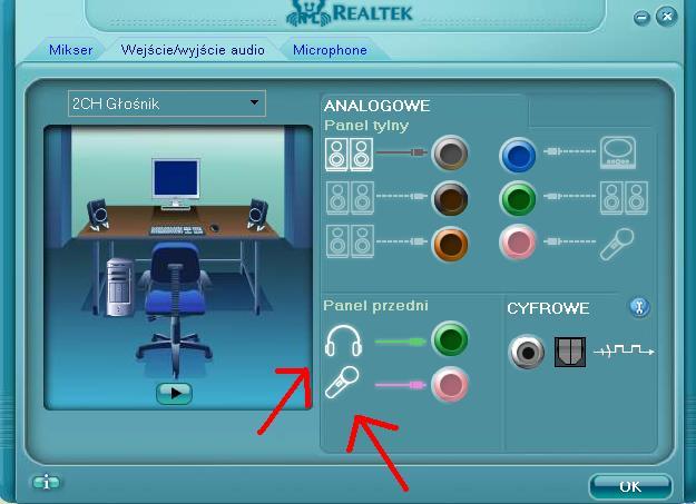 Brak dźwięku Realtek ALC892 - elektroda pl