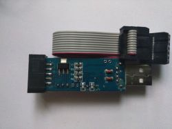 USBASP V2.0 USBISP programmer for AVR systems - made in China - Test and Review