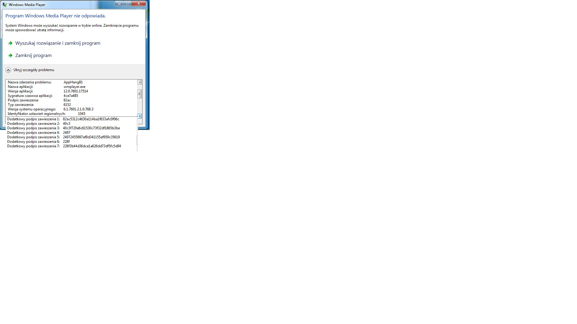 Windows 7 Home Premium - Przy uruchomiony internecie nie chodzi WMP