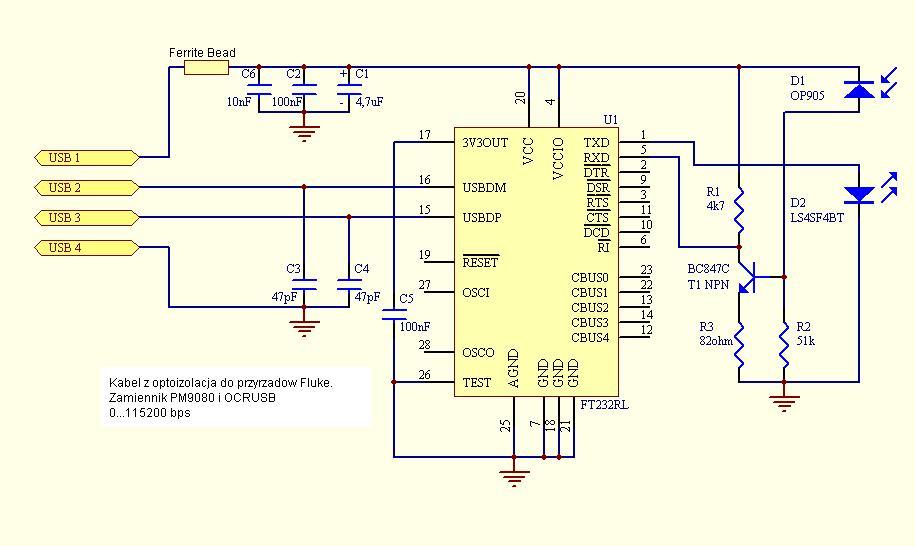 схема кабеля <