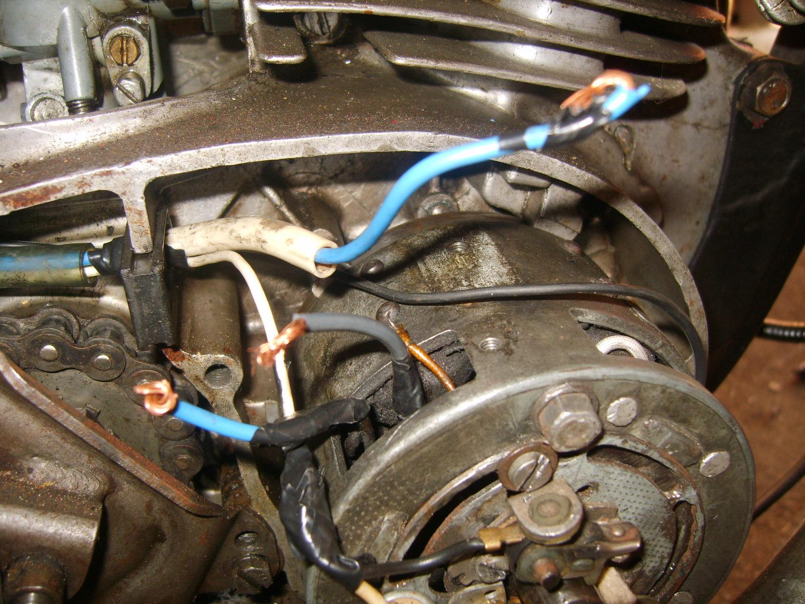 Jawa typ 356 - brak iskry i �adowania