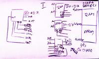 Podłączenie uP z pamiecią (ram, rom, eprom) z układem I/O - prośba o wyjaśnienie