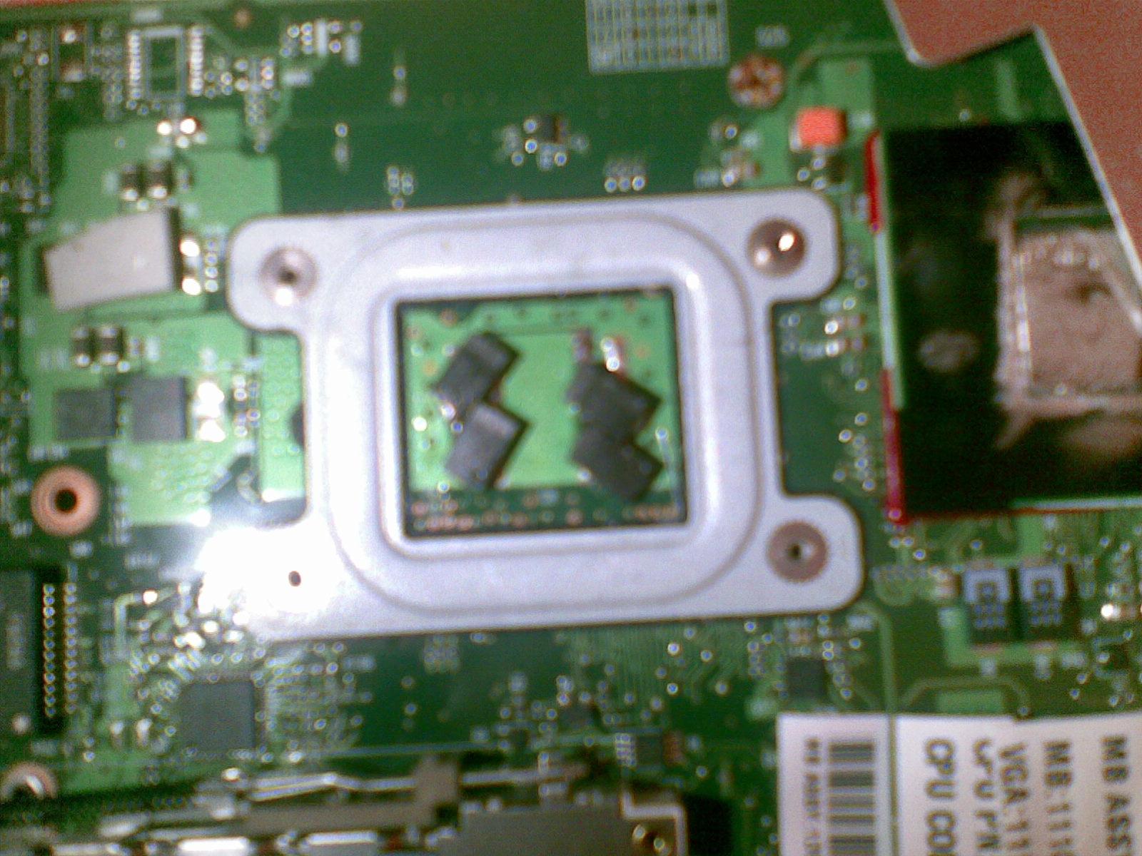 Toshiba A300-1EG - Objawy zbli�one do uszkodzenia NEC/TOKIN