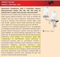 Wijas Perfect 350 - Rezystancja grzałki