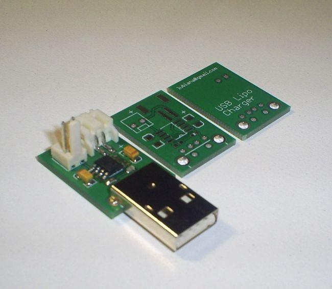 Kompaktowa �adowarka akumulator�w litowych zasilana z USB