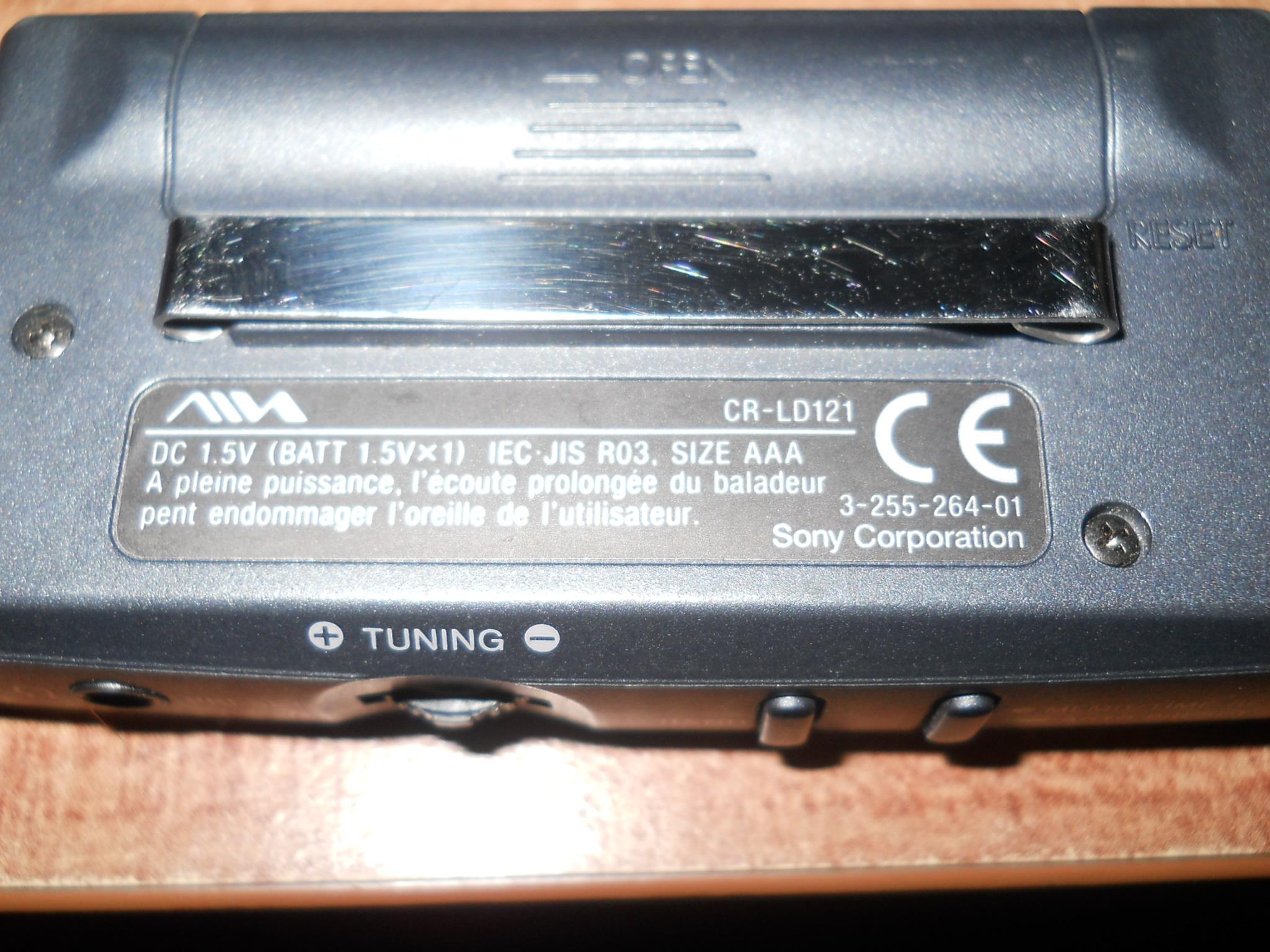[Sprzedam] AIWA (Sony) Radio Przeno�ne CR-LD121 ORYGINA� !!