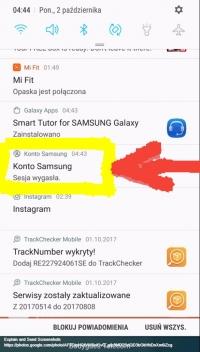 Samsung Galaxy S6 - Bezustanne logowanie się do konta Samsung na Galaxy S6.